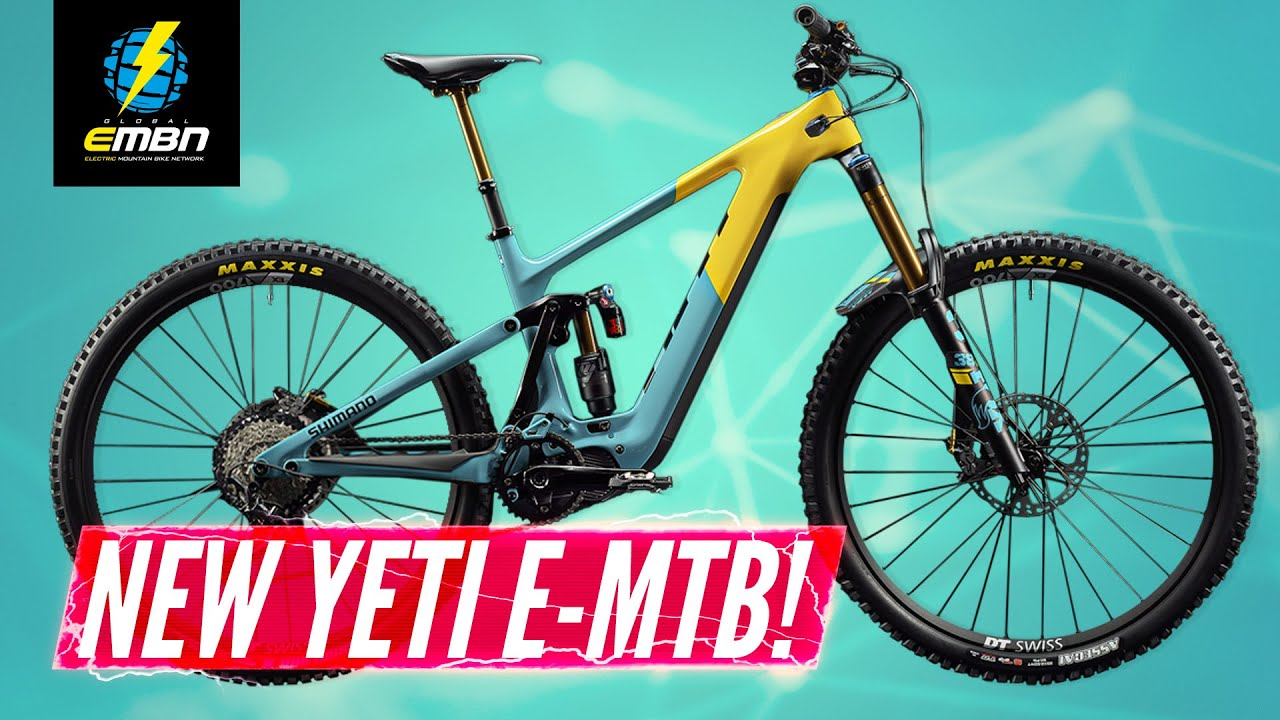 NEW Yeti 160E E-Bike Revealed! | The First EMTB Designed For Racing?