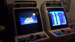 My Home Arcade: 2 Sega Astro City Candy Cabinets, Galaga '88 Standup, And Mappy Cocktail