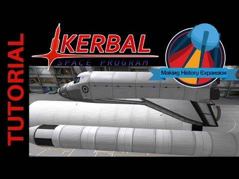 Space Shuttle Solid Rocket Boosters (SRBs): Kerbal Space Program Making History