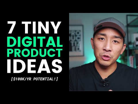 9 Tiny Digital Product Ideas That Can Make $100k Per Year