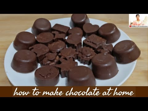 How To Make Chocolate At Home | Healthy Chocolate For Kids Homemade