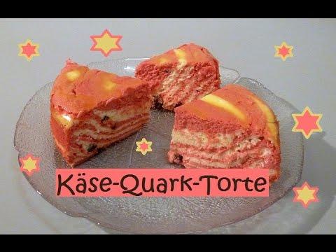 Kase Quark Torte Total Lecker Und Super Einfach Youtube