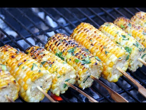 Ultimate Grilled Corn #JulyMonthOfGrilling | CaribbeanPot.com