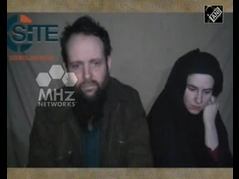 Taliban video purportedly shows captured US Canadian couple (31 August,2016)