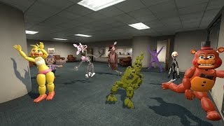 harlem shake   five nights at freddy s 3 version garry s mod gmod
