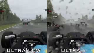 F1 2015 [PC] - Ultra Low vs Ultra - Graphics Comparison