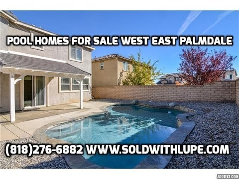 palmdale pool home for sale anaverde area 288 000 youtube