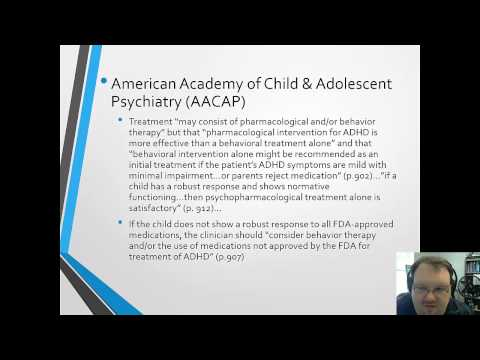 Pharmacological Treatments of ADHD