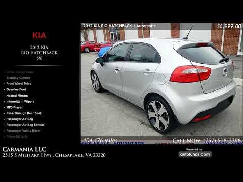 Used  KIA RIO HATCHBACK | Carmania LLC, Chesapeake, VA