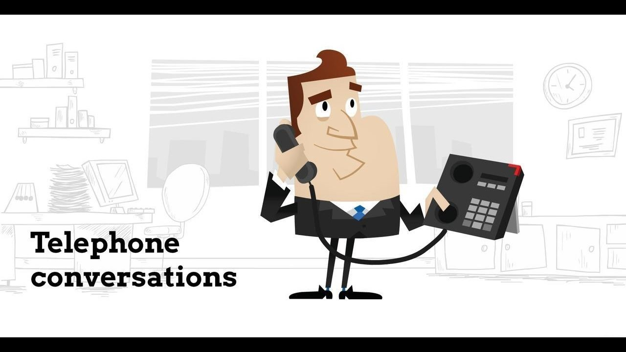 Telephone Conversations in English