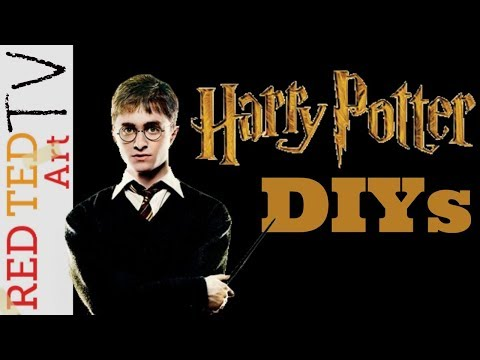 DIY Harry Potter Ideas to Make - RED TED ART TV - E5