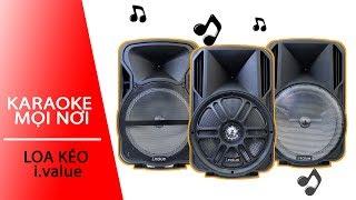 Loa kéo i.value : Hát karaoke mọi nơi   Phụ kiện FPT Shop