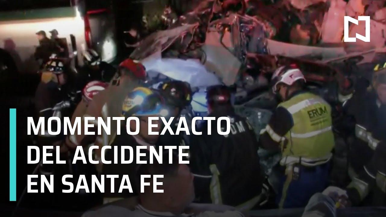 Momento Exacto Del Accidente En Santa Fe En Punto Con