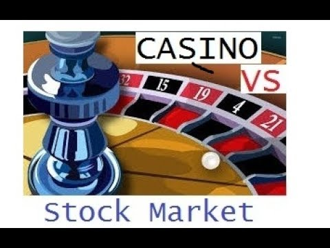 Why STOCK MARKET is 100 Times Better Than a CASINO | Hindi | 2017