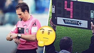 Why don't referees stop the clock when there is a break in play? | Oh My Goal