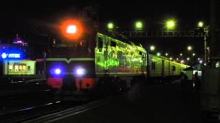видео ЖД Вокзал МОСКВА (Белорусский вокзал) в городе Москва
