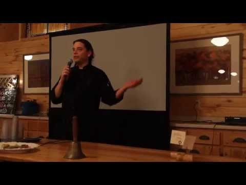 """Sean Sherman """"The Sioux Chef"""" at the Indigenous Farming Conference 2015"""