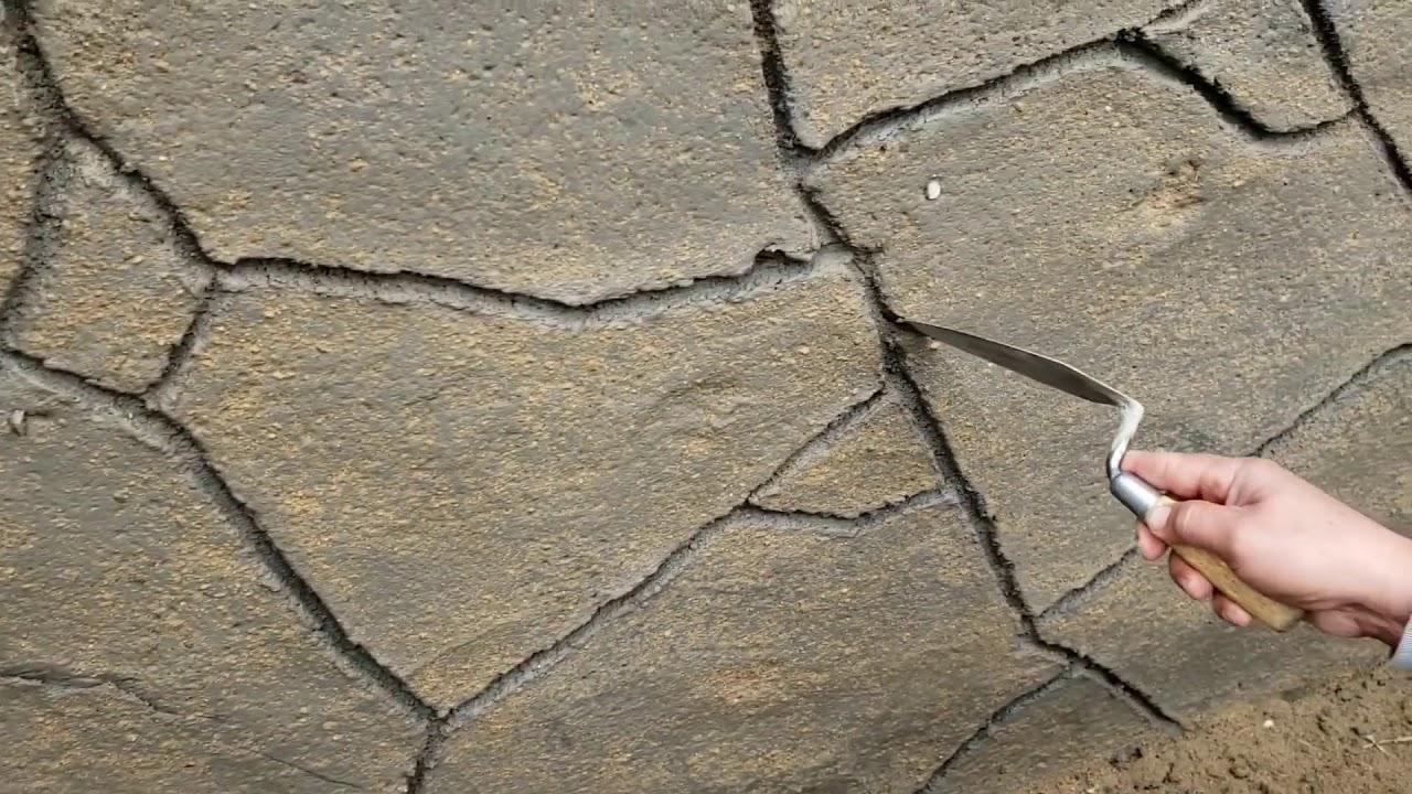 Bricomania Como Hacer Piedras Planas En Un Muro Youtube