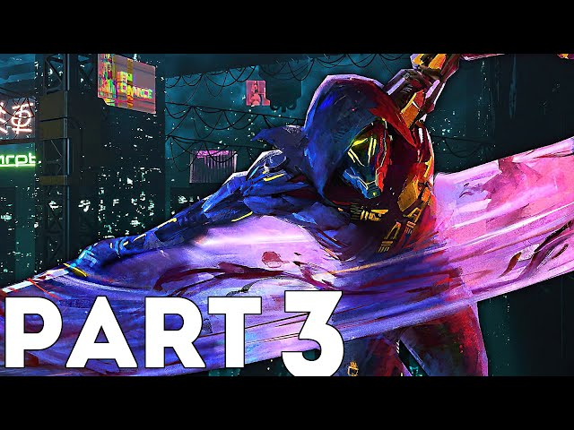 Ghostrunner Gameplay Walkthrough Part 3- Faster, In Her Own Image & Things You Wouldn't Believe