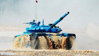 Biatlón de tanques: La batalla final cierra los Juegos Militares Army 2017 en Rusia