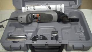 In this video I show you the Dremel Multi-Max tool kit and what is ...