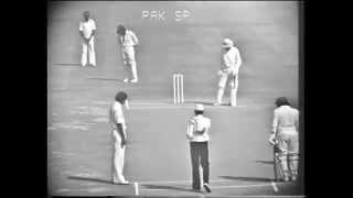 Kapil Dev 39 s 1st over in test cricket