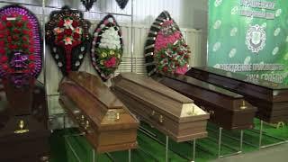 производители гробов на выставке