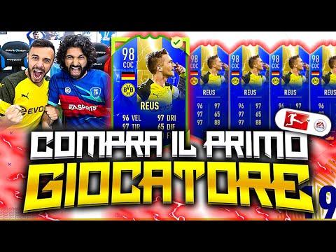 MARCO REUS 98!!!!!!!!! COMPRA IL PRIMO GIOCATORE su FIFA 19!