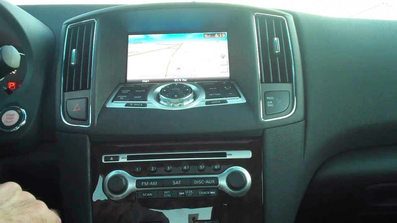 2009 nissan maxima bluetooth audio