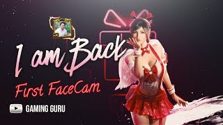 First FaceCam | I Am Back | Pubg Mobile Live | Gaming Guru