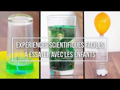 Experiences Scientifiques 6 12 Ans