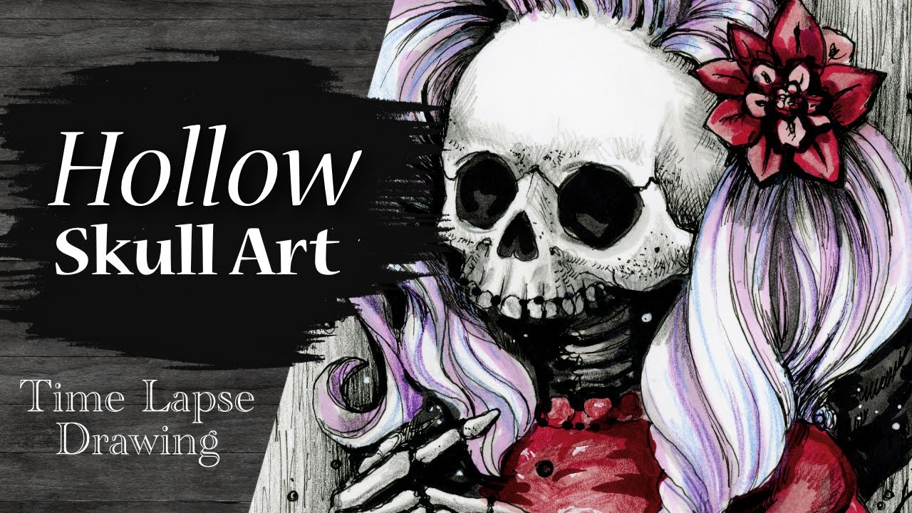 Hollow Time Lapse Drawing Video