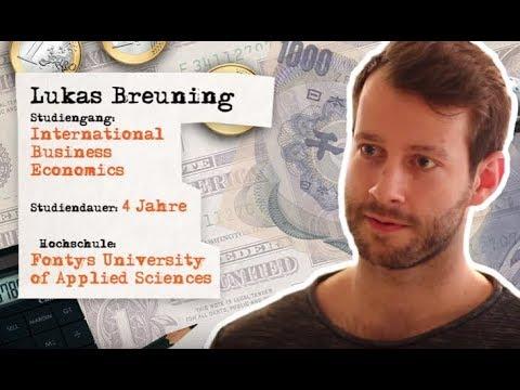 Business Economics studieren an der Fontys University of Applied Sciences