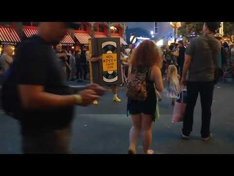 Pee Tape Dancing at Comic Con