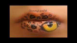 Snow Leopard Eye Lips Tutorial