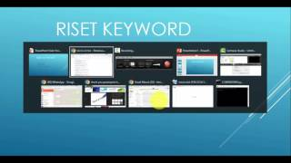 video 2 riset keyword
