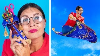 9 Fournitures Scolaire Bizarres DIY Que Tu Dois Essayer / Matériel Scolaire Disney et Pixar