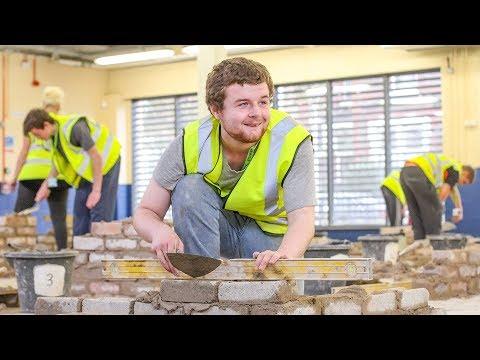 Bricklaying at Hugh Baird College