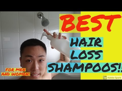 5 BEST HAIR LOSS SHAMPOOS FOR MEN AND WOMEN!!