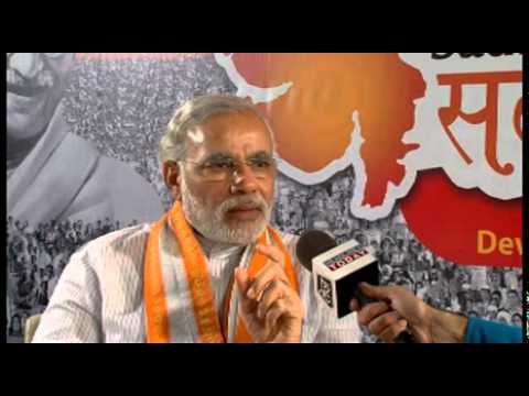 Narendra Modi's interview with Headlines Today