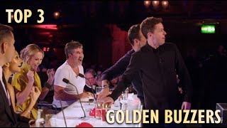 TOP 3 GOLDEN BUZZER Britain's Got Talent 2019