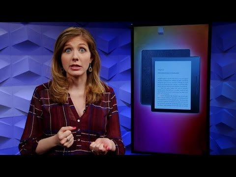 Amazon Kindle Oasis is crazy thin, and crazy expensive (CNET Update)