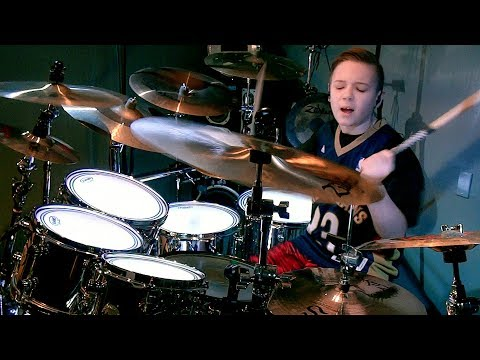 TICKS & LEECHES - TOOL (11 yr old drummer) Drum Cover by Avery Drummer