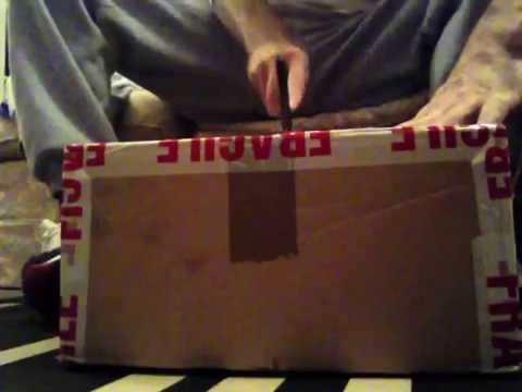 Opening a box of 24 classic Now That's What I Call Music & The Hits 80's records vinyl albums