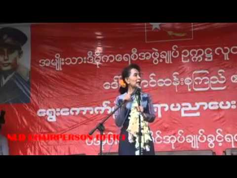 A public rally at Hsi Hseng in Shan State, a self-administrative area of PaO on 5th September...