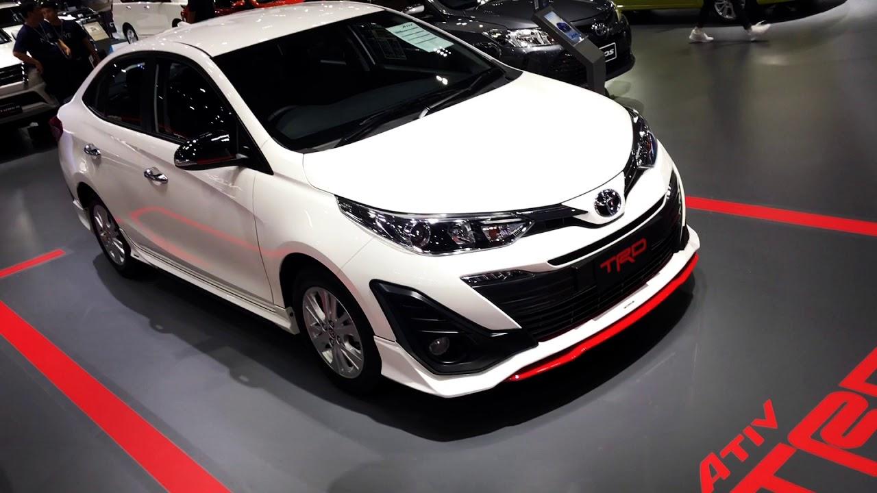 Toyota Yaris Ativ Trd Heykers 1 2 Youtube