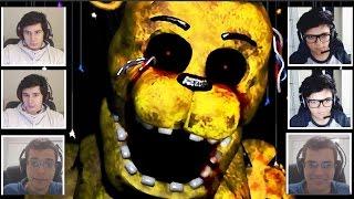 MORRENDO DE MEDO! - Five Nights at Freddy's 2 MULTIPLAYER! ft. JVNQ thumbnail