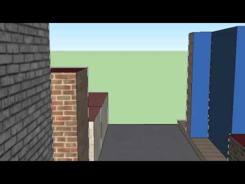 Grand Avenue SketchUp Project