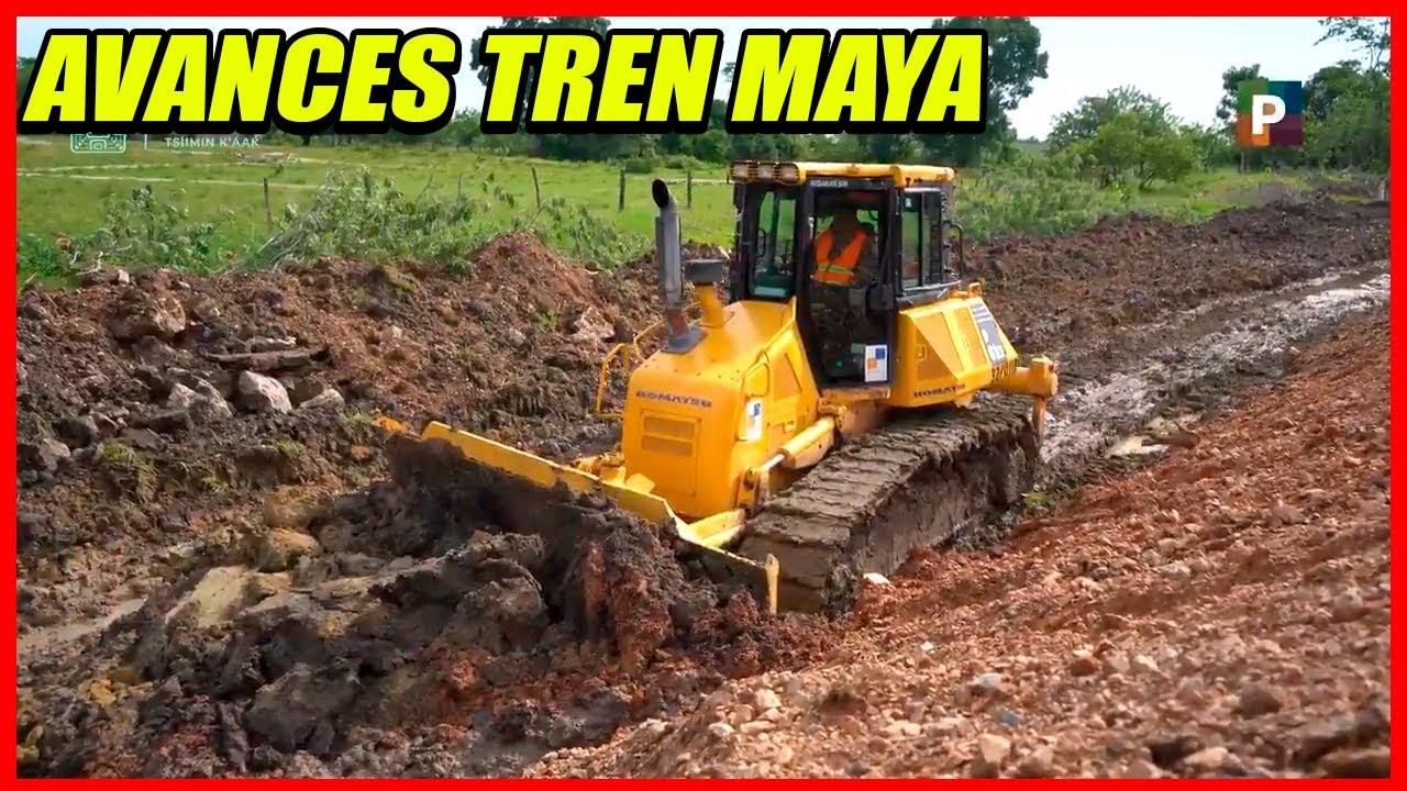 AVANCES EN LA CONSTRUCCIÓN DEL TREN MAYA SEMANA 5