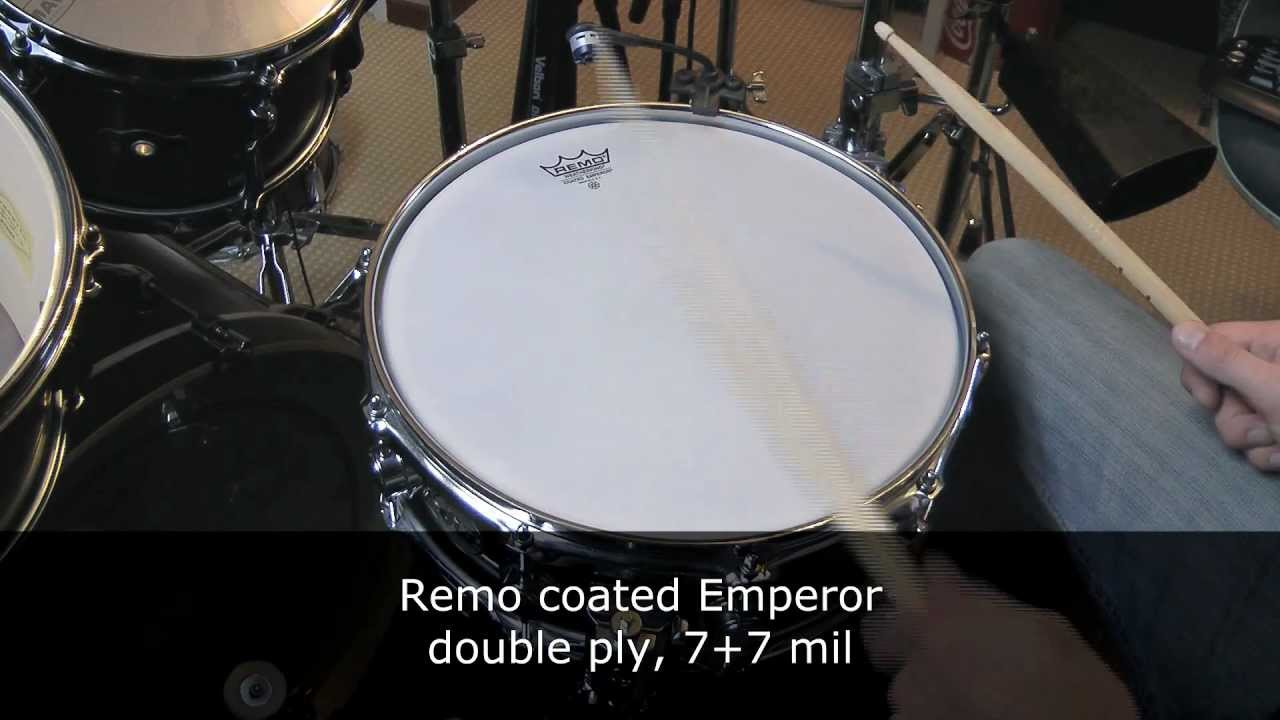 Snare Drum Heads Sound Test - YouTube